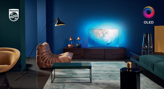Philips oled TV met Bowers & Wilkins geluid